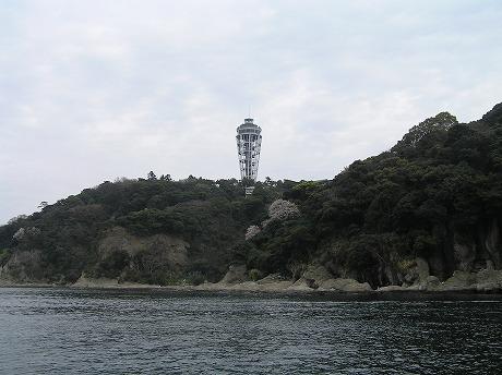 船から見た灯台